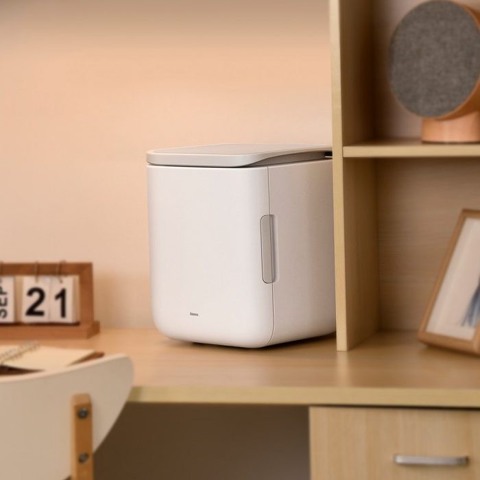 other accessories - baseus igloo mini fridge for students 6l eu (cooler and warmer) (acxbw-a02) white - 9 - krytarna.cz