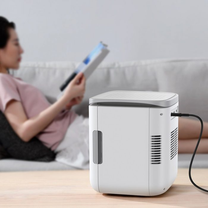 other accessories - baseus igloo mini fridge for students 6l eu (cooler and warmer) (acxbw-a02) white - 10 - krytarna.cz
