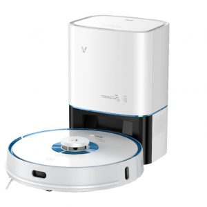 Cleaning & disinfection - Intelligent vacuum cleaner Viomi S9-UV with emptying station (white) - 1 - krytarna.cz