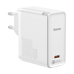 Wall Chargers - Baseus GaN2 Fast Charger 1C 100W with USB-C cable for USB-C 5A