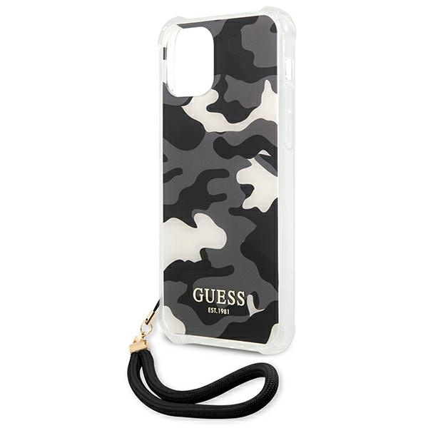 iphone 12 pro max - guess guhcp12lksarbk apple iphone 12 pro max black hardcase camo collection - 6 - krytarna.cz