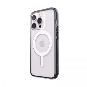 iPhone 13 Pro - Speck Presidio Perfect-Clear Impact Geometry MagSafe MICROBAN Apple iPhone 13 Pro (Clear/Black) - 1 - krytarna.cz