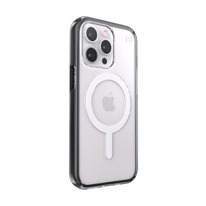iPhone 13 Pro - Speck Presidio Perfect-Clear Impact Geometry MagSafe MICROBAN Apple iPhone 13 Pro (Clear/Black) - 2 - krytarna.cz