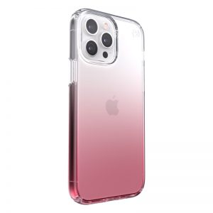 iPhone 13 Pro Max - Speck Presidio Perfect-Clear Ombre MICROBAN Apple iPhone 13 Pro Max (Clear/Vintage Rose) - 2 - krytarna.cz