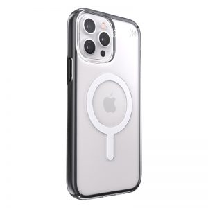 iPhone 13 Pro Max - Speck Presidio Perfect-Clear Impact Geometry MagSafe MICROBAN Apple iPhone 13 Pro Max (Clear/Black) - 2 - krytarna.cz