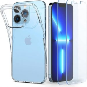 iPhone 13 Pro Max - Spigen Crystal Pack Apple iPhone 13 Pro Max Crystal Clear - 1 - krytarna.cz