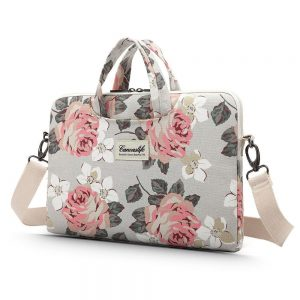 bags - canvaslife briefcase bag 13-14 inch white rose - 1 - krytarna.cz