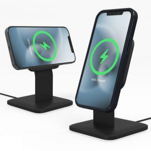 Wireless chargers - Mophie Snap+ Wireless Charging Stand MagSafe/Android 15W - 1 - krytarna.cz